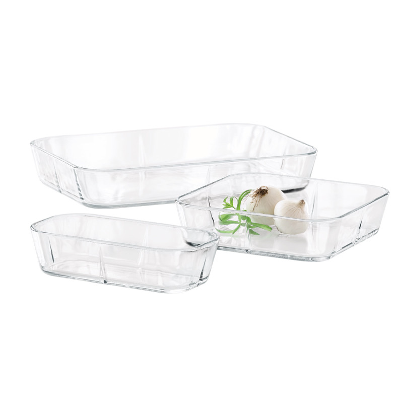 Set of Three Oven Dishes