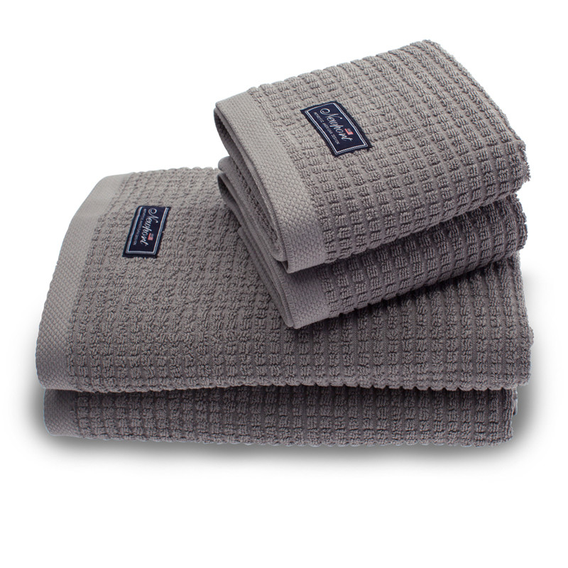 Towels Fisher Island Gray