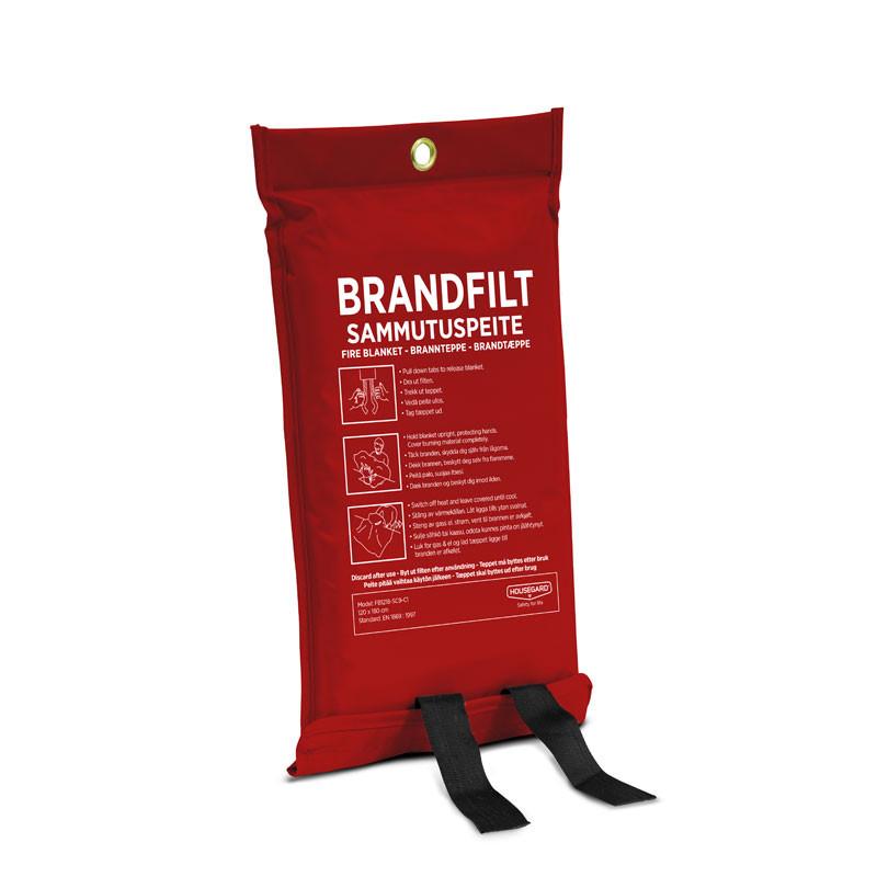 Fire Blanket, 120x180 cm, Red