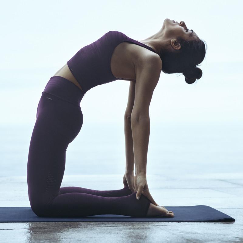Yoga mat black