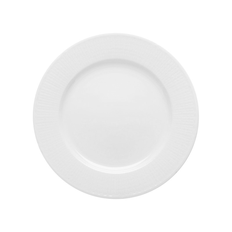 Swedish Grace Small Plate 17 cm Snow 6-pack