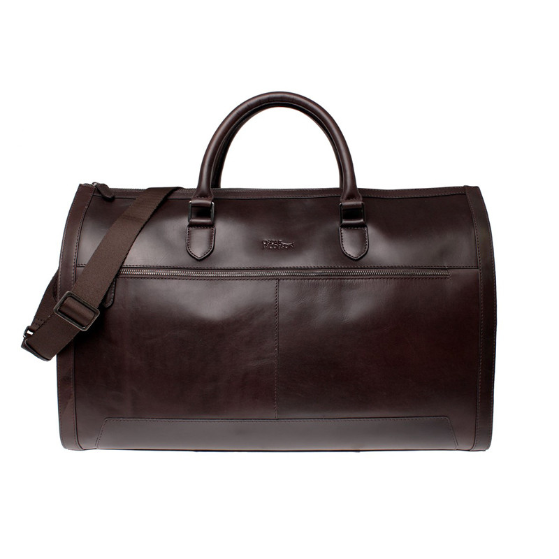 Weekend suit bag dark brown
