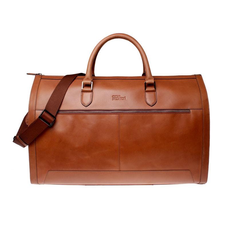 Weekend suit bag midbrown