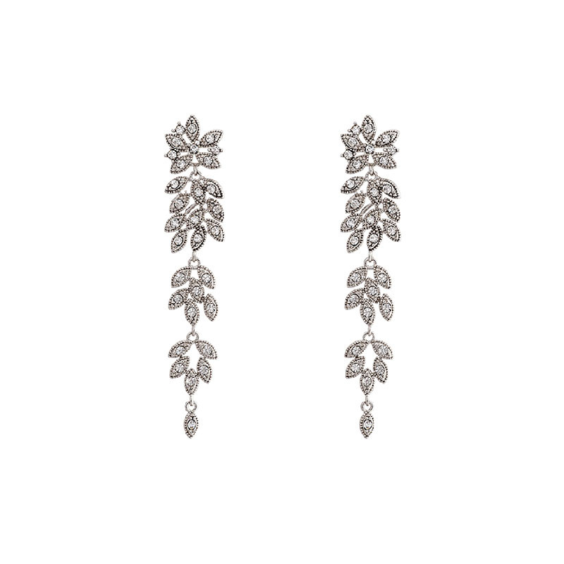 Petite Laurel Earrings Crystal