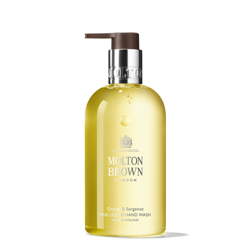 Hand Wash, Orange & Bergamot Fine Liquid