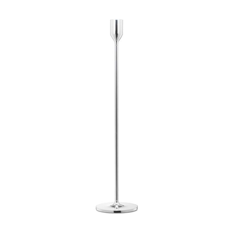 Candlestick Nattlight 45cm Silver