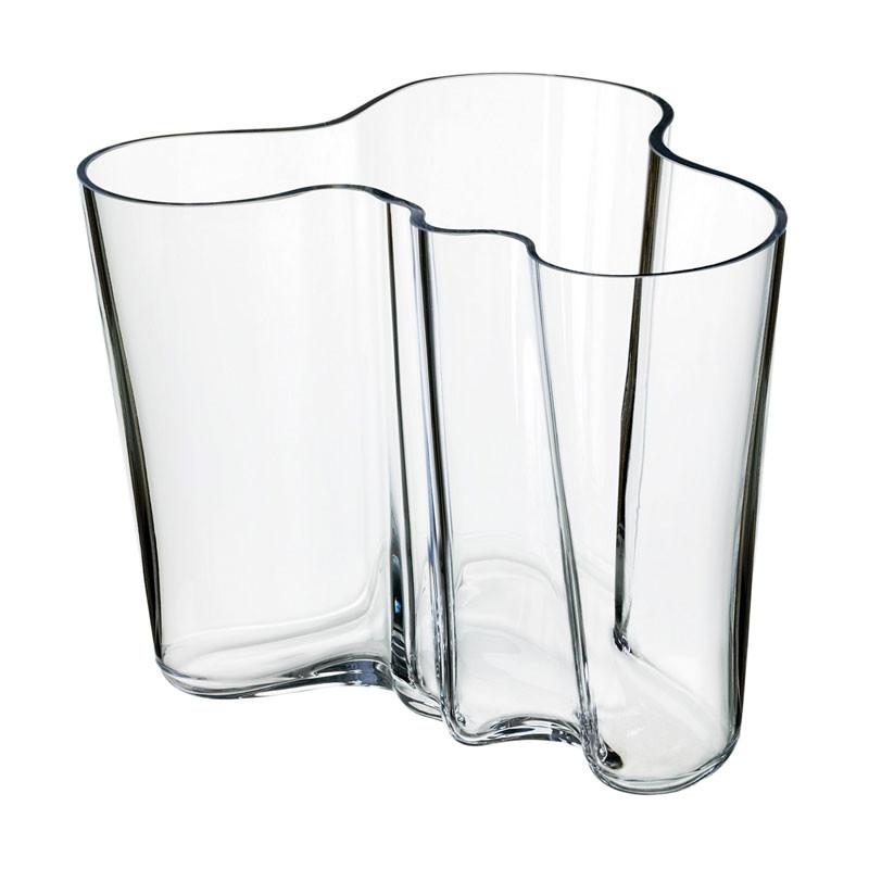 Alvar Aalto Vase 160 mm Clear