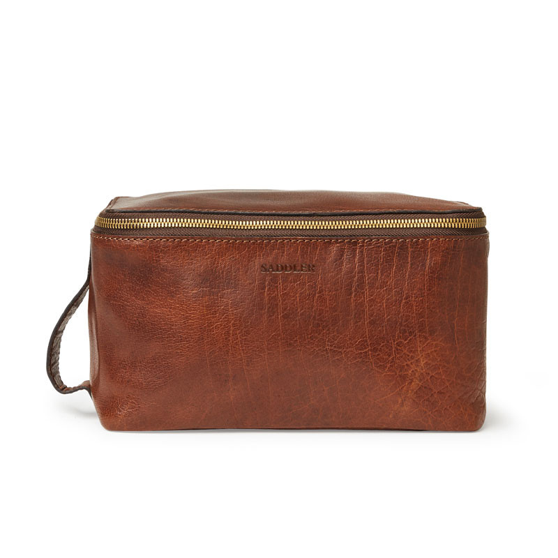Barolo Toiletry Bag Brown