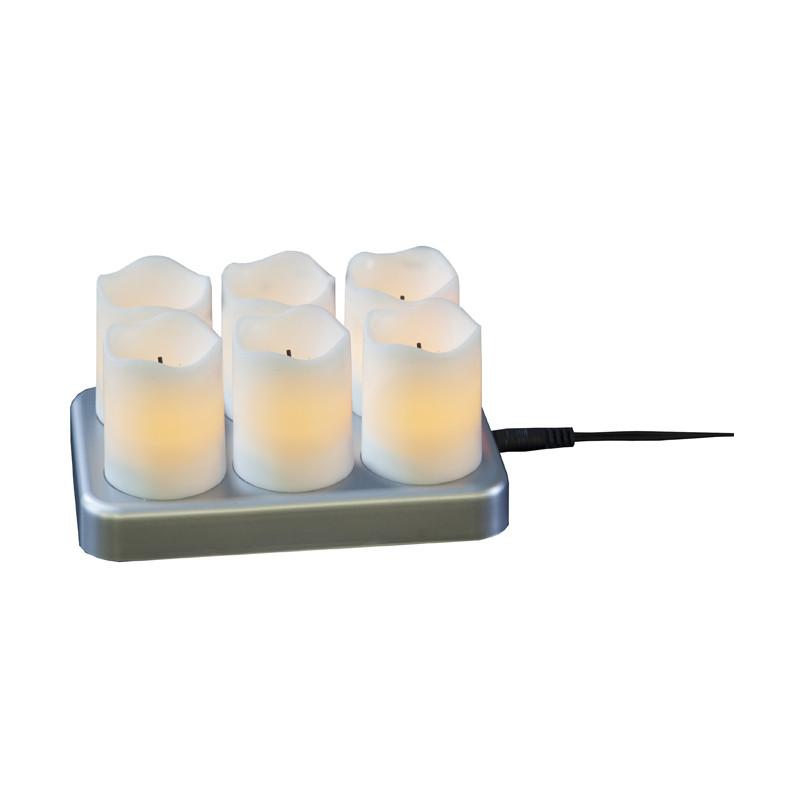 LED Chargeme Tealight 6 pcs