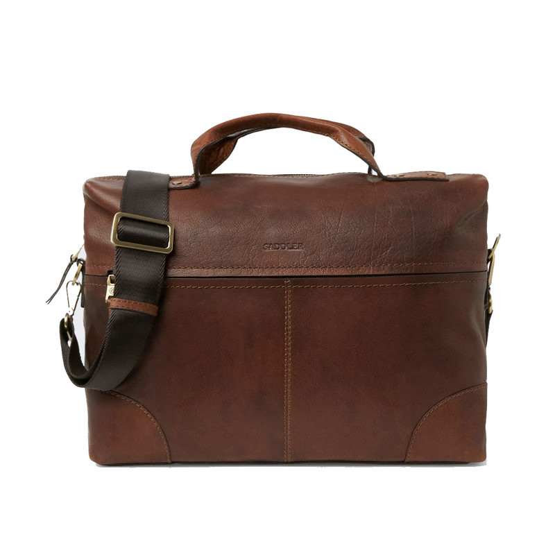Birger Computer Bag Brown