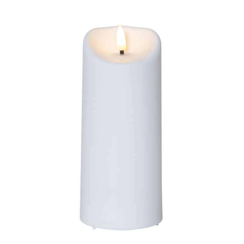 LED Pillar Candle Flamme