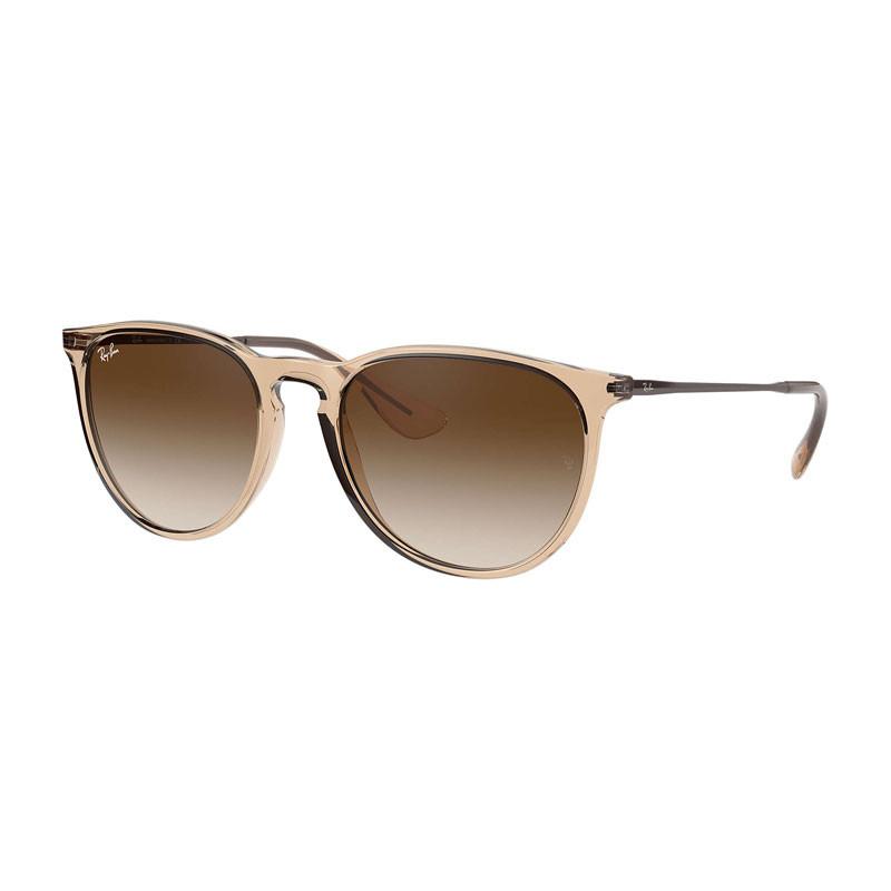 Sunglasses Erika Shiny Transparent Brown