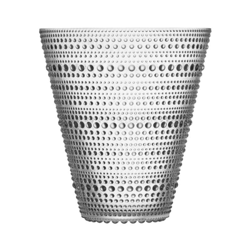 Kastehelmi Vase 154 mm Clear