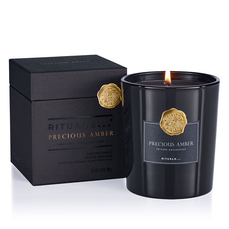 Precious Amber Scented Candle 360 gr