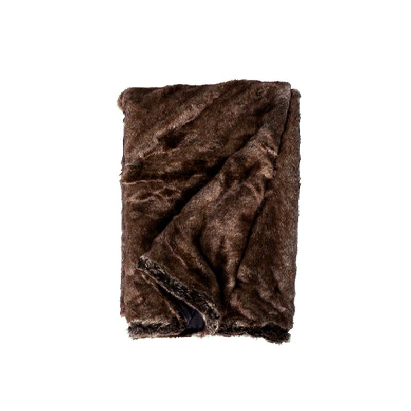 Aspen Pläd Brown Bear