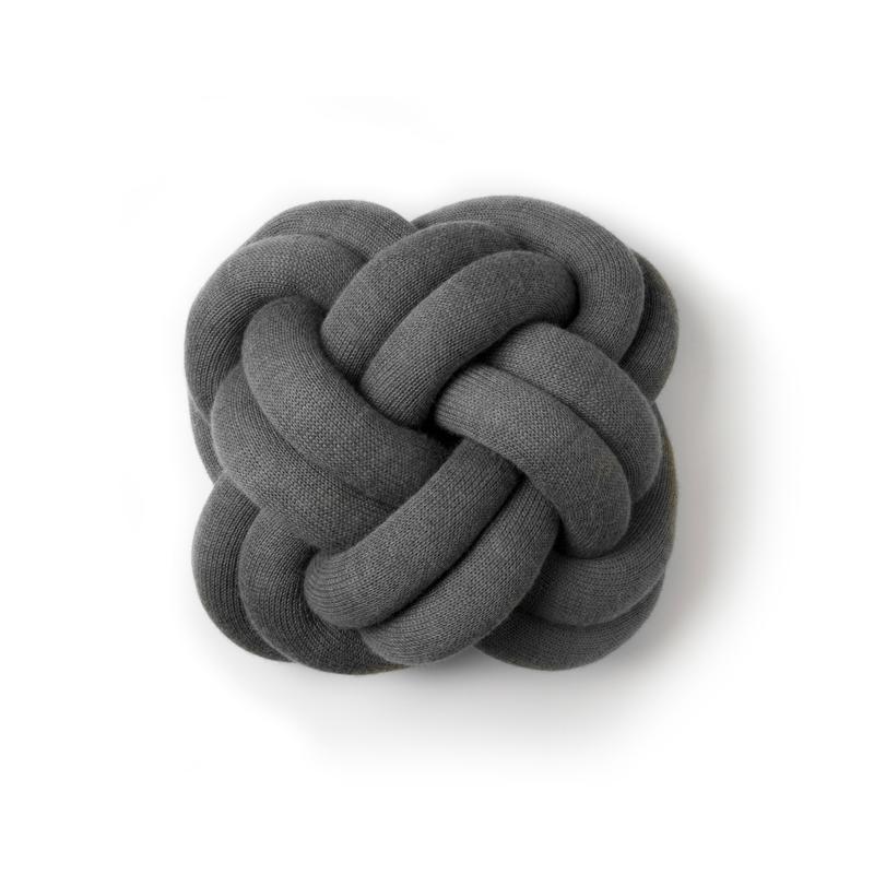 Knot Cushion,Grey