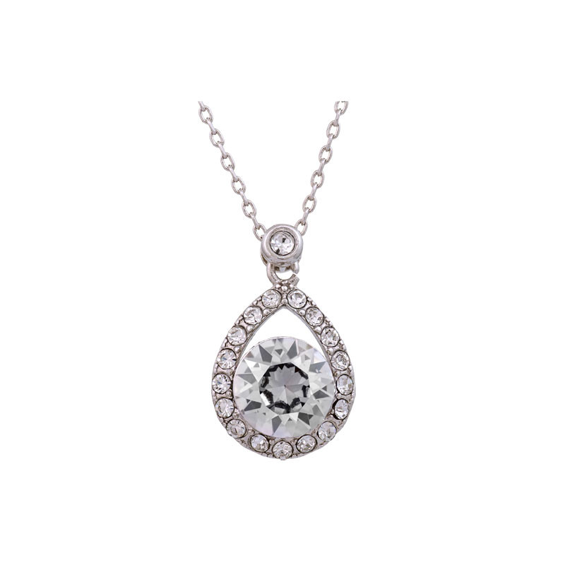 Emmylou Necklace Crystal