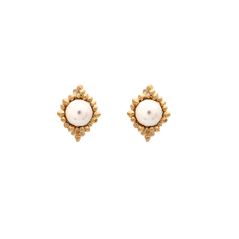 Miss Bonnie Earrings Ivory