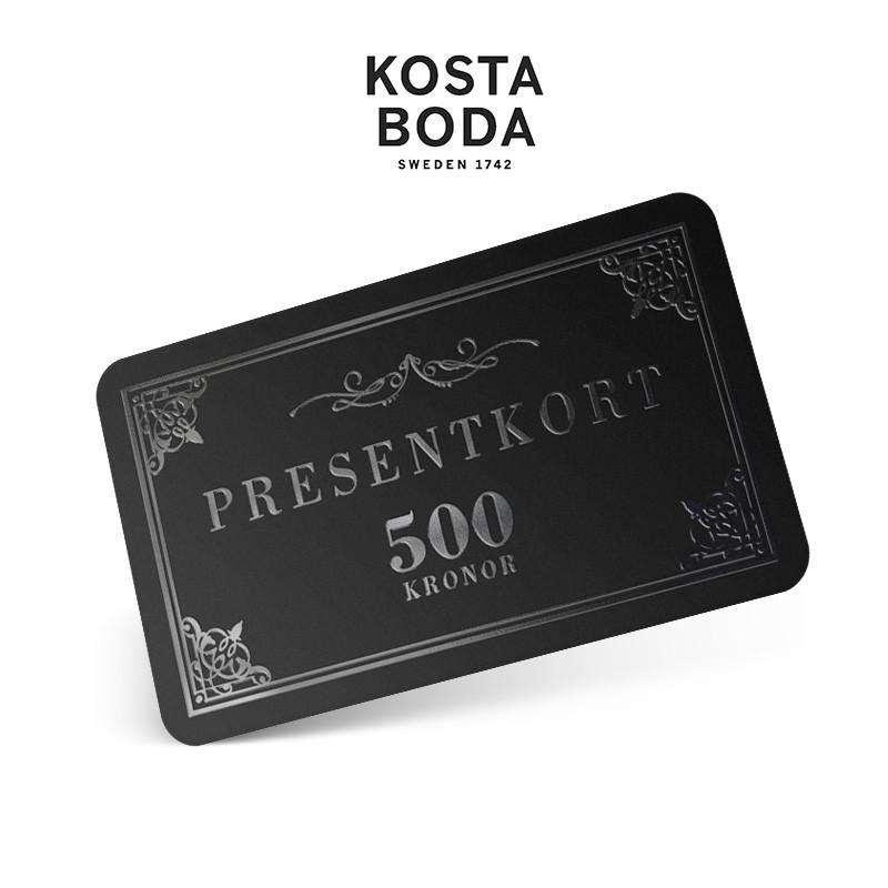 Kosta Boda Art Hotel, 500 SEK