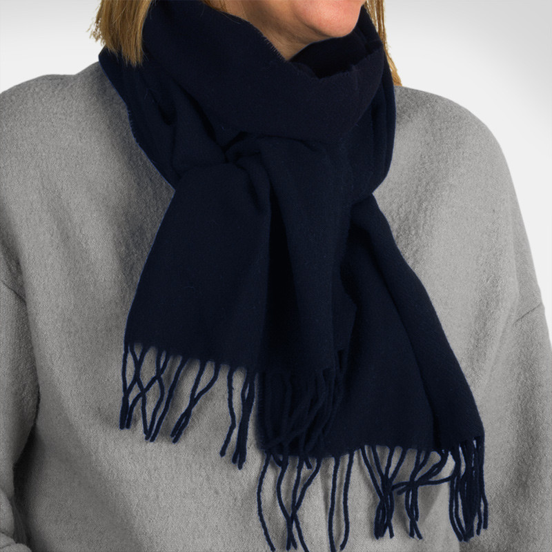 Scarf One Colored Navy